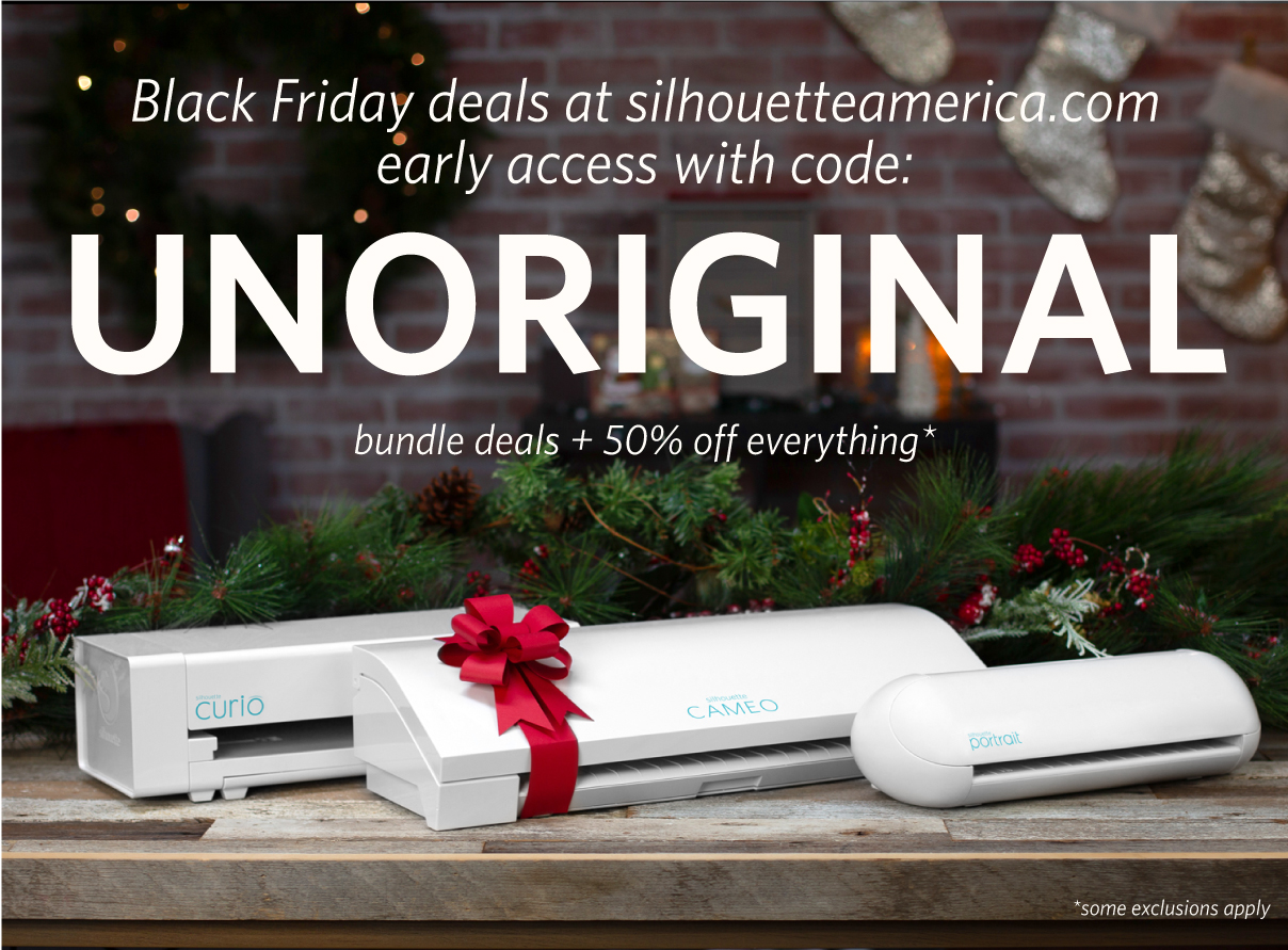 Silhouette Black Friday EARLY ACCESS sale!