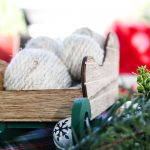 DIY Christmas Vase Filler Yarn Balls