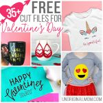 Free Cut Files for Valentine's Day