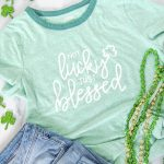 Not Lucky Just Blessed – St. Patrick's Day SVG