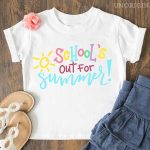 School's Out for Summer Cut File