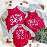 DIY Sibling Christmas Shirts + Free SVG