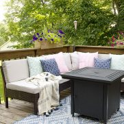Small Deck Decorating Ideas: Our Deck Tour