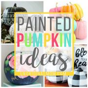 Painted Pumpkin Ideas for Fall Decor