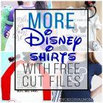 MORE Free Disney Cut Files