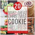 20 Make Ahead Christmas Cookies