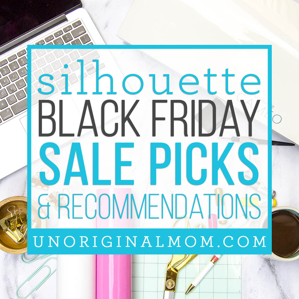 Silhouette Black Friday Sale review - read more about my sale favorites and what I'm passing on. #silhouette #blackfriday