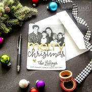 Silhouette Print-and-Cut Christmas Cards
