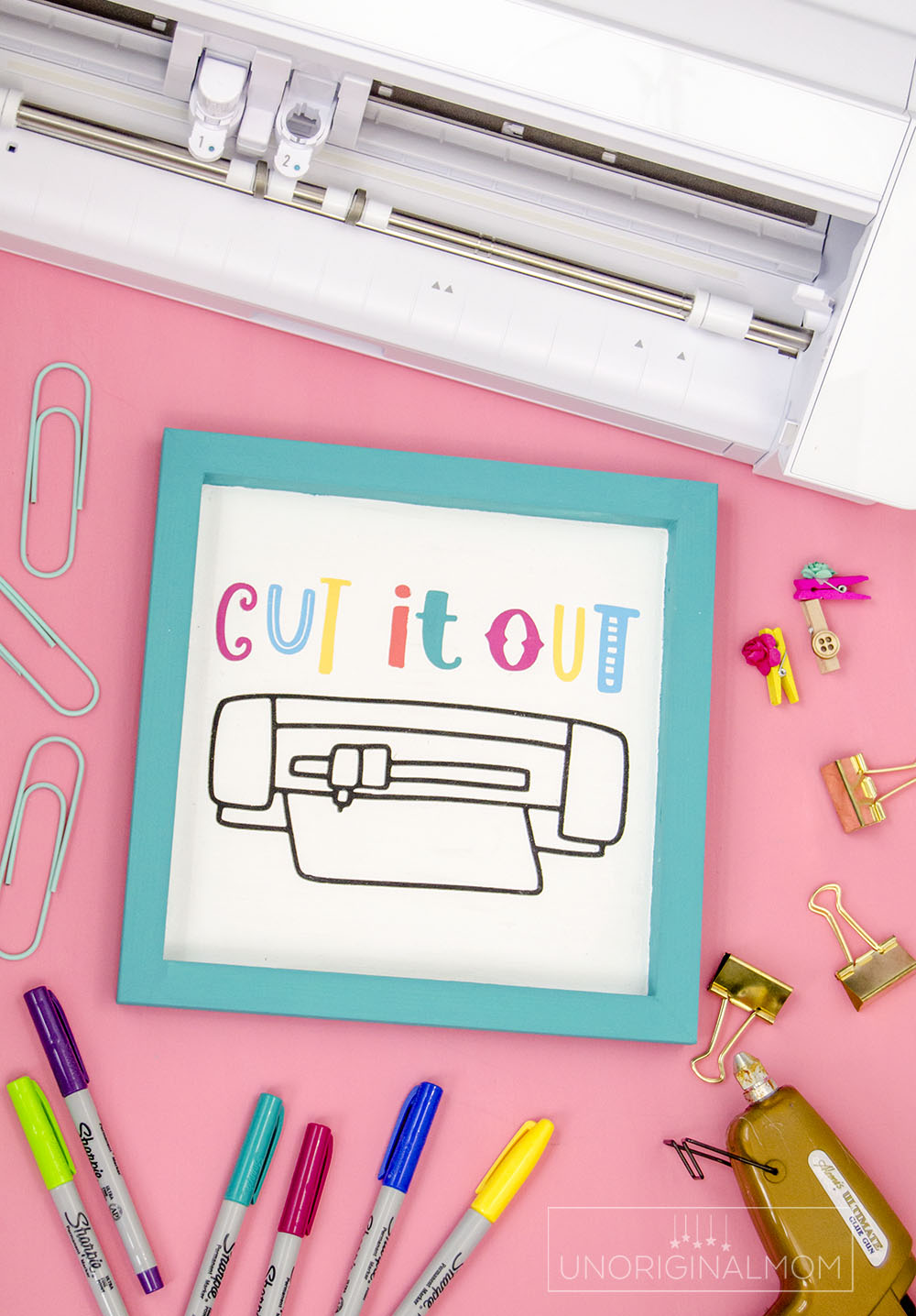Silhouette CAMEO icon SVG or Cricut Maker icon SVG - perfect for a DIY craft room sign!