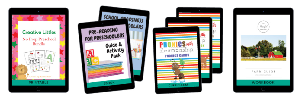 Ultimate Homeschooling Bundle Review - Preschool Resources