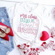 Free Valentine SVGs – Teacher Valentine Shirt