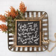 Free Fall Sign SVGs – Fall is Proof That Change is Beautiful